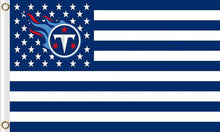 Load image into Gallery viewer, Tennessee Titans Club Banners Flags 3ftx5ft