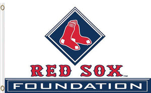 Boston Red Sox logo Flag 3x5 FT