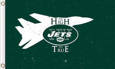 New York Jets Team Logo Sports Flags 3ftx5ft