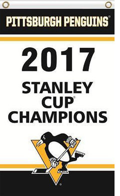 Pittsburgh Penguins flag Champion Banner