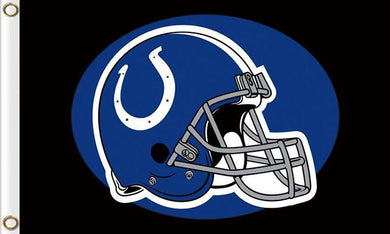Indianapolis Colts Team Logo Sports Flags 3ftx5ft