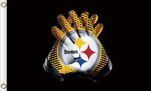 Load image into Gallery viewer, Pittsburgh Steelers Sports Banners Flags 3ftx5ft
