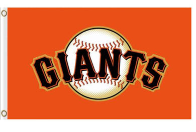 San Francisco Giants Orange Banner flags 90x150cm