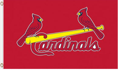 St. Louis Cardinals Red Banner flags 3ftx5ft