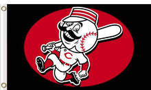 Load image into Gallery viewer, Cincinnati Reds Baseball Club flag 3ftx5ft