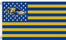 Load image into Gallery viewer, Baltimore Ravens Flag the Star flag 3x5ft