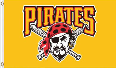 Pittsburgh Pirates Yellow Banner flag 90x150cm