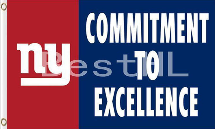 New York Giants Commitment To Excellence Flags 3*5FT