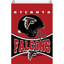 Load image into Gallery viewer, Helmt Atlanta Falcons Flag 3x5FT