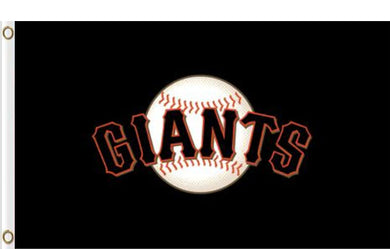 San Francisco Giants Black Banner flags 90x150cm