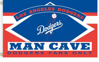 Los Angeles Dodgers Man Cave Banner flags 3ftx5ft