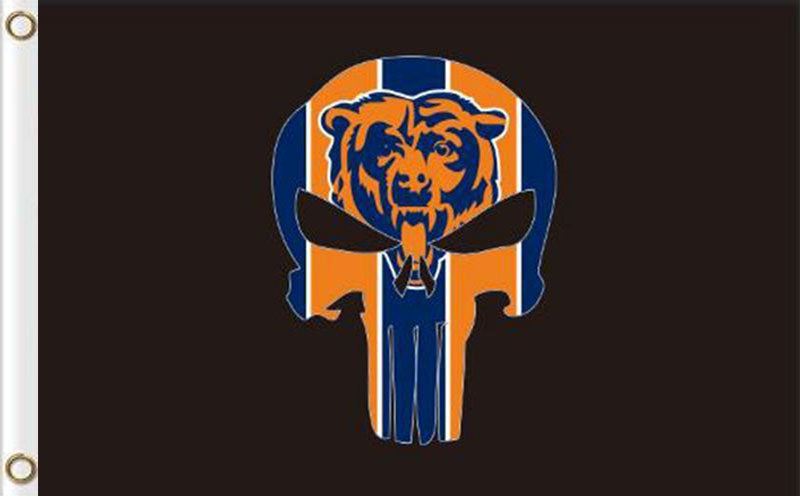 Chicago Bears Digital Printing Flag 3ftx5ft