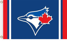Load image into Gallery viewer, Toronto Blue Jays Flag Baseball 3x 5FT Flag