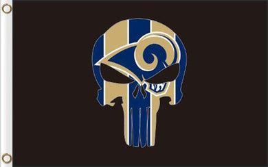Los Angeles Rams Digital Printing Flag 3ftx5ft