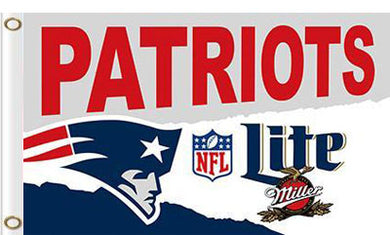 New England Patriots Lite Flag 3x5 FT