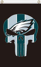 Load image into Gallery viewer, Philadelphia Eagles team Flag 3x5FT skeleton