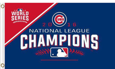 Champions Chicago Cubs flag 3ftx5ft