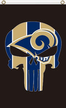 Load image into Gallery viewer, Los Angeles Rams Digital Printing Flag 3ftx5ft