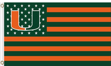 Load image into Gallery viewer, Miami Hurricanes Hand Flag 3*5ft