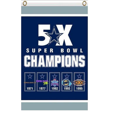 Dallas Cowboys Champions Flag 90x150cm