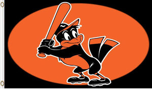 Baltimore Orioles Baseball Club flag 3ftx5ft