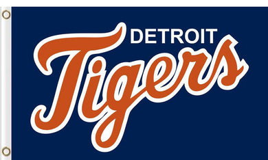Detroit Tigers Baseball Club flags 3ftx5ft