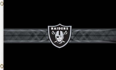 Oakland Raiders Club Logo Sports Flags 3ftx5ft