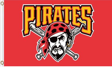 Pittsburgh Pirates Red Banner flag 90x150cm