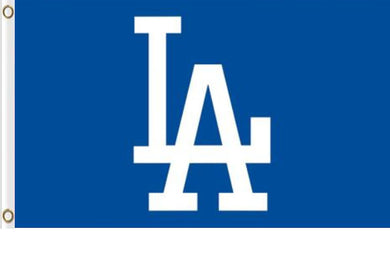 Los Angeles Dodgers Logo Banner flags 3ftx5ft