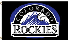 Load image into Gallery viewer, Colorado Rockies Baseball Club flags 3ftx5ft