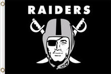 Load image into Gallery viewer, Oakland Raiders Flags Football Soccer 90*150 CM
