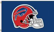 Load image into Gallery viewer, Hemlet Buffalo Bills Flag 3ftx5ft