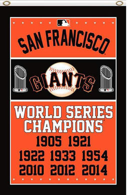 San Francisco Giants champions flag 90x150cm