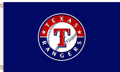 Texas Rangers flags 100D polyester digital print