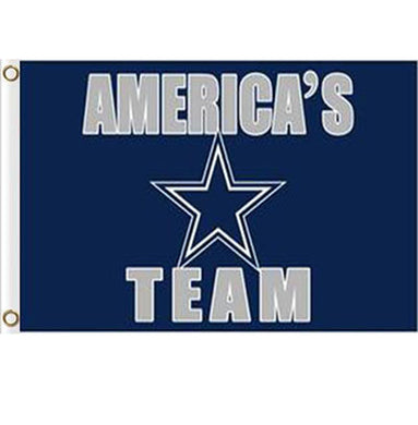 3x5ft Dallas Cowboys american's team flags 100D