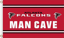 Load image into Gallery viewer, Atlanta Falcons Man Cave Flag 3x5FT