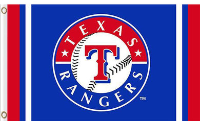 Texas Rangers custom flag 3ftx5ft