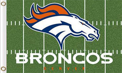 Denver Broncos Green flag 90x150cm