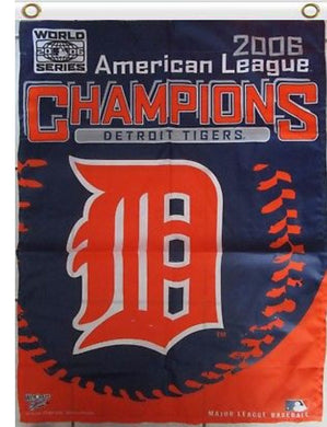 Detroit Tigers 2006 World Series Banner flags 3ftx5ft