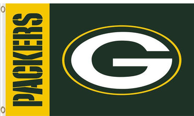 Green Bay Packers Club Logo Banners Flags 3ftx5ft