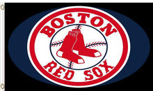 Load image into Gallery viewer, Boston Red Sox logo Flag 3x5 FT