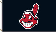 Load image into Gallery viewer, Cleveland Indians Baseball Club flags 3ftx5ft