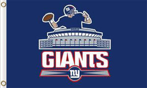 New York Giants Team Logo Sports Flags 3ftx5ft