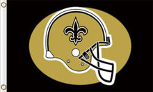 Load image into Gallery viewer, New Orleans Saints Sports Banners Flags 3ftx5ft