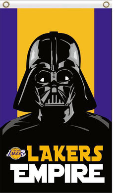 Los Angeles Lakers Empire Flag 3ftx5ft