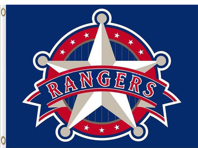 Texas Rangers Baseball Club flag 3ftx5ft