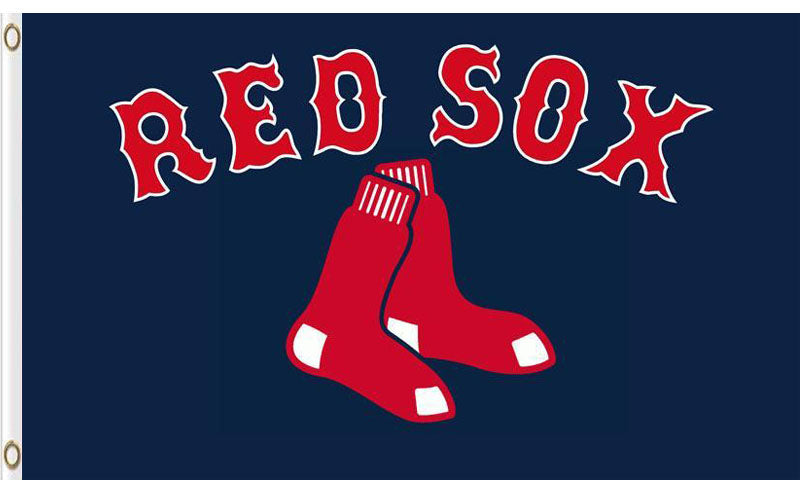 Boston Red Sox Baseball Club flags 3ftx5ft