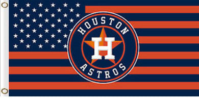 Houston Astros American Team Flag 3x5ft