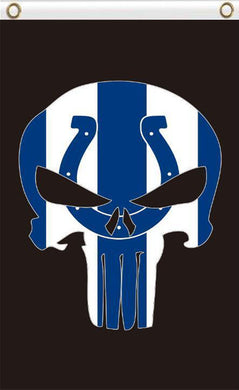 Indianapolis Colts Flag Digital Printing 3FTx5FT