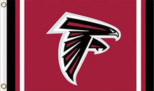 Load image into Gallery viewer, Atlanta Falcons Logo Stripe Flag 3ftx5ft